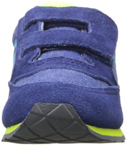 SAUCONY ST56368 JAZZ HL blu scarpe bambino boy strappo Blu/Verde