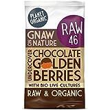Planeta De Chocolate Orgánico Bayas De Oro 40G (Paquete de 4)