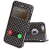 FYY Coque iPhone 6S Plus, Coque iPhone 6 Plus, Housse Magnetique Smart View avec...