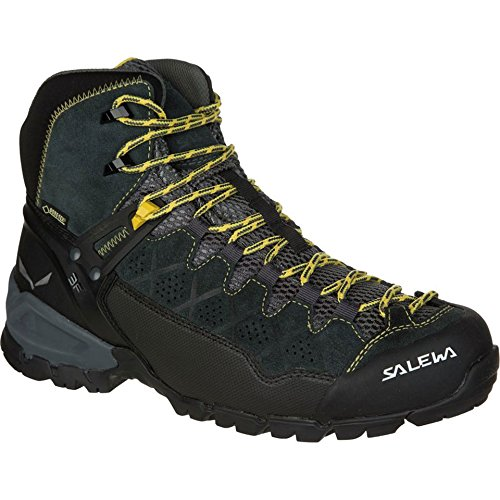 Salewa Ms Alp Trainer Mid Gtx, Bottines de randonnée homme Black