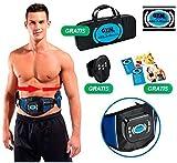 ABS-A-ROUND - La cintura con elettrostimolatore muscolare digitale a