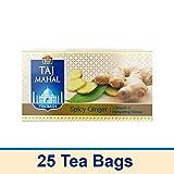 Taj Mahal Spicy Ginger Tea Bags, 25 Pieces