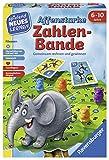 Ravensburger Kinderspiele 24973 Affenstarke Zahlen-Bande Lernspiel, Bunt