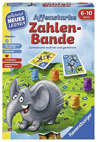 "Ravensburger 24973\"" Affenstarke Zahlen-Bande Lernspiel, bunt"