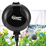 Hygger Aquarium Air Pump, Ultra Silent <33dB Fish Tank Air Pump, 1.5W 420