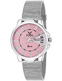 Fogg Analog Pink Dial Women's Watch 4047-PK