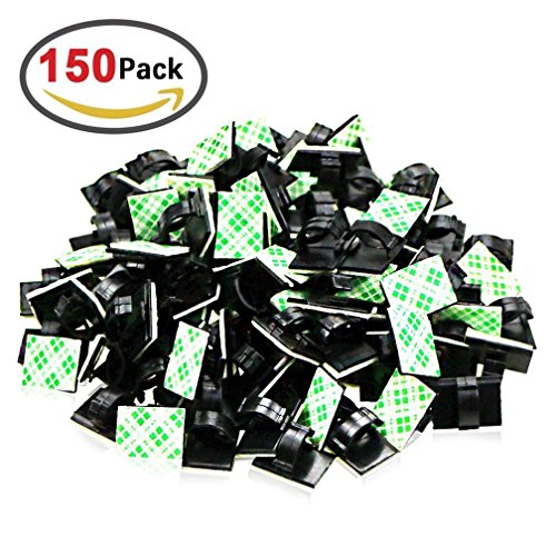 gemoor-150pieces-adhesive-multi-purpose-cable-clips-clamp-cable-management-cable-ties-holder-for-car