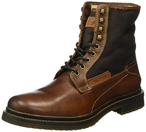 Daniel Hechter821215501069 - Stivali a metà gamba con imbottitura pesante  Uomo , Marrone (Braun (cognac dark Brown 6361)), 44 eu