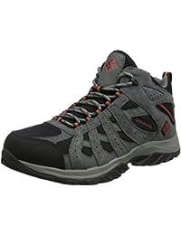 Columbia Canyon Point Mid Waterproof, Zapatos de High Rise Senderismo para Hombre