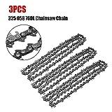 3 piezas de motosierra de cadena de repuesto 20 pulgadas 325 058 76DL para Baumr-Ag SX62 herramientas eléctricas accesorios