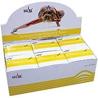 Nasara Kinesiologie Tape kinesiologische Tapes * gelb * 5m x 50mm * Spenderbox (6er VE Umkarton) preisvergleich bei billige-tabletten.eu