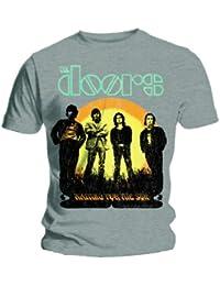The Doors ~ ~ Waiting for the Sun ~ ~ T-Shirt ~ ~ ~ ~ Herren Grau