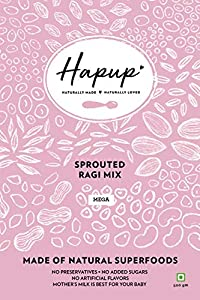 Hapup Sprouted Ragi Mix - 500gm