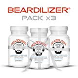 Beardilizer® - Erste Bartwuchs Lösung Für Männer (3-er Pack) - 270 Kapseln