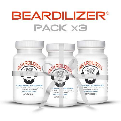 beardilizerr-1er-accelerateur-de-pousse-de-barbe-pack-x3-270-capsules