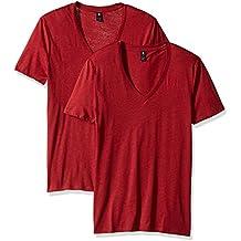G-STAR RAW Base V T S/S 2-Pack, Camiseta para Hombre