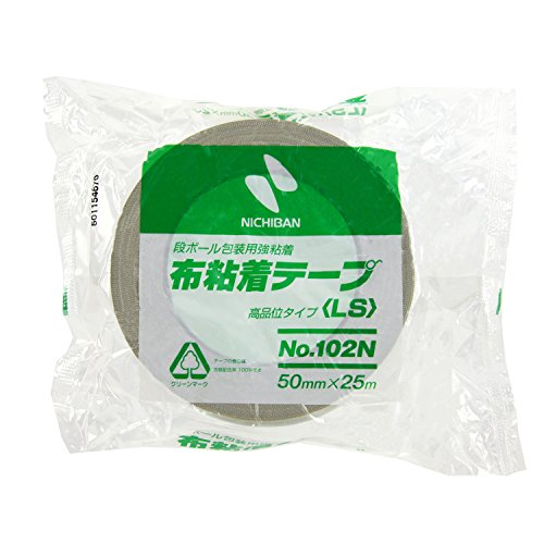 "102N7-50 Nichiban cloth adhesive tape NO.102N 50mm 25m ocher (japan import) by ""Nichiban Co., Ltd."""