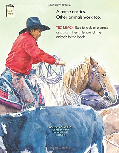 Animals Work (I Like to Read)