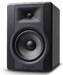 M-Audio BX5 D3 - Professionelle 2-Wege Aktiv Studio monitor und PC Lautsprecher 5 zoll woofer, 100 W für Musik produktion und Mixing mit eingebauter Acoustic Space Control, 1 Stück