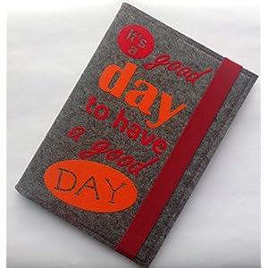 Notizbuch DIN A5 aus Wollfilz
