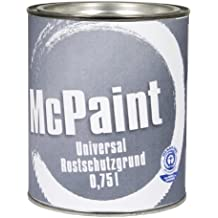 Mcpaint Universal Grate for Basic Grey 0.75 Litres J122331 A