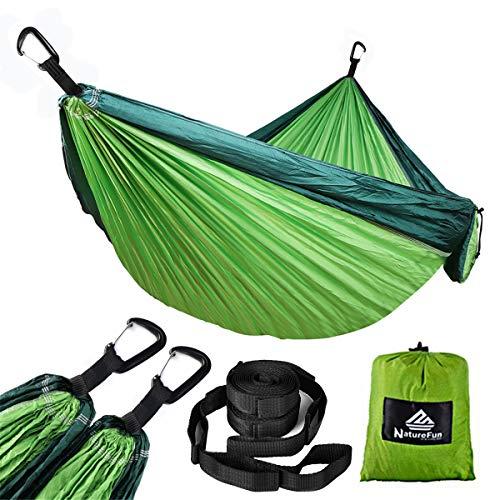 NatureFun Hamaca ultraligera camping| 300kg capacidad