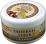 Universal Lederbalsam 250ml Reinigt und pflegt Lederbekleidung, Schuhe und Möbel mit echtem Bienenwachs