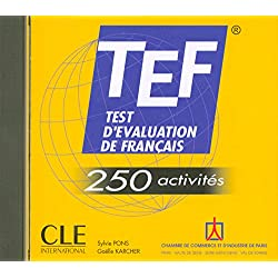 TEF 250 activité - CD audio