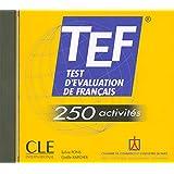 Test d'evaluation de Francais - 250 activites: CD-audio