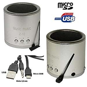 mini haut parleur radio fm avec lecteur de carte micro sd. Black Bedroom Furniture Sets. Home Design Ideas