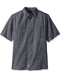 Woolrich Men's Lost Lakes Chambray Modern Fit Shirt