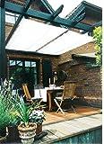 Floracord Sonnensegel Bausatz Universal 270 x 140 cm uni, weiß