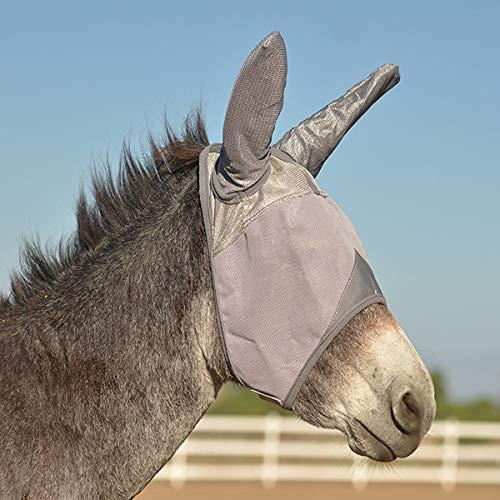 Cashel Crusader Fly Mask UV-Schutz Fliegenmaske mit Ohren Esel Draft