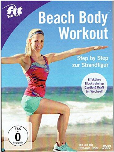 Preisvergleich Produktbild Beach Body Workout - Step by Step zur Strandfigur - Fit for fun - Tchibo