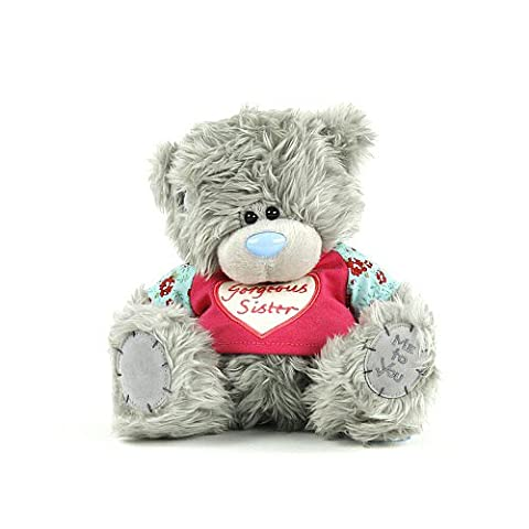 Me to You 18 cm 8-Inch Gorgeous Sister Bear Plush Toy (Grey)