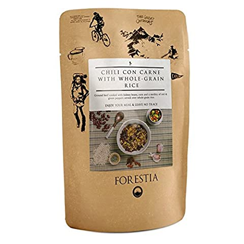 Forestia Gourmet Camping and Backpacking Food Ready to Eat (Chili Con Carne)