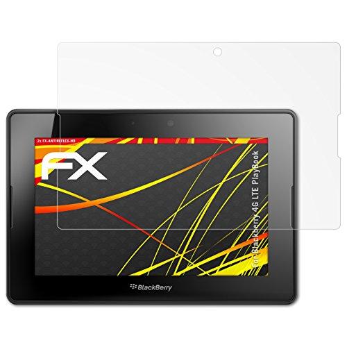 atFoliX Pellicola Proteggi per Blackberry 4G LTE Playbook Protezione Pellicola dello Schermo - 2 x FX-Antireflex-HD ad Alta risoluzione antiriflesso Pellicola Protettiva