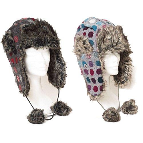 Mens Women Unisex Russian Winter Warm Trapper/Aviator Bomber Hat Cap