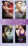 Modern Romance October 2019 Books 1-4: The Sicilian's Surprise Love-Child (One Night With Consequences) / Cinderella's Scandalous Secret / A Passionate ... My Bride of Convenience (English Edition)