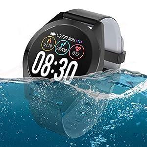 CARTEY Pulsera inteligente G50S Heart Fitness Tracker Monitoreo del corazón Paso Sueño Tasa de salud Presión arterial… 3