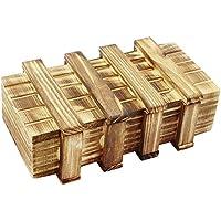com-four® Magic Box, Zauberholzkasten, Magische Geschenkbox, Geldtresor, Schatztruhe, Trickbox aus Holz preisvergleich bei kinderzimmerdekopreise.eu