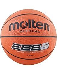 Molten EBB6 - Balón de baloncesto, color naranja, tamaño 6
