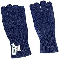 100% Kaschmir handschuhe Herren Blau , gestrickte Kaschmirhandschuhe, mongolische Kaschmir (26/2 Garn Zusammensetzung) Winterhandschuhe für Männer, Hellblau Kaschmirhandschuhe, Pashmina Handschuhe
