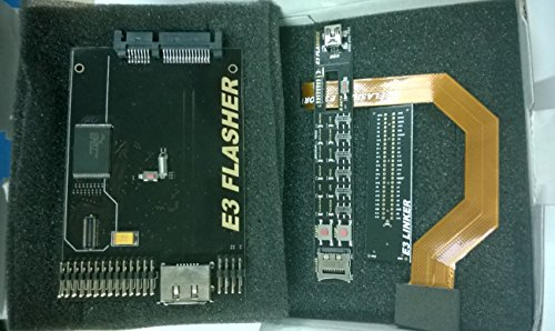 X-YYY E3 Nor Flasher 4 kits simple packing Dual Boot with Slim Power Switch - Downgrade for PS3 V3.7 to V3.55