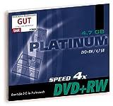 Bestmedia Platinum DVD+RW Rohlinge 4700MB JewelCase 1 Stück