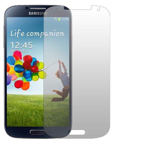 Slabo 4 x Displayschutzfolie für Samsung Galaxy S4 Displayfolie Schutzfolie Folie Zubehör No Reflexion MATT