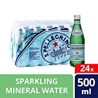 San Pellegrino Glass Sparkling Water - Pack of 24 Pieces (24 x 500ml)