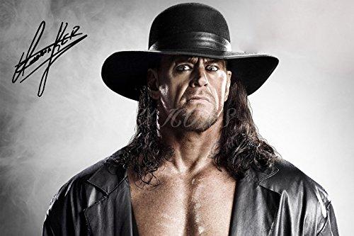 The Undertaker Signiertes Foto Print-großartige Qualität-30,5x 20,3cm (A4) (Wwe-uhr)