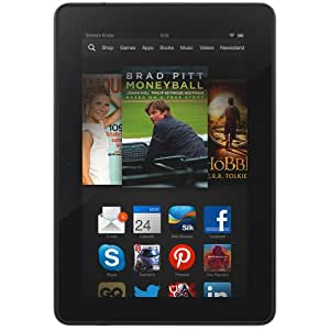 """Kindle Fire HDX 7"""", HDX Display, Wi-Fi and 4G, 16 GB - Includes Special Offers (Previous Generation - 3rd)"""
