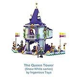 #1103 the queen tower snow white series - 170pcs compatible building bricks construction set
